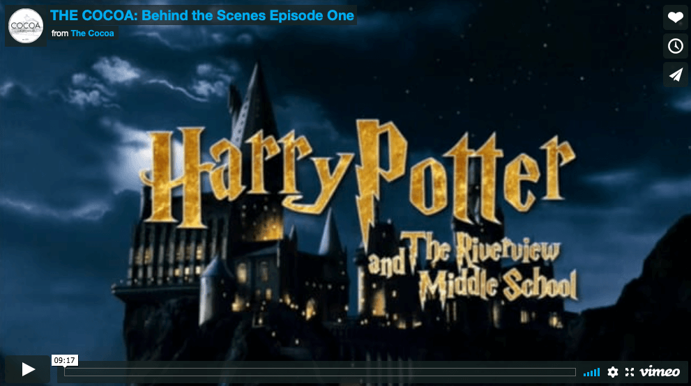 This awesome middle school built Hogwarts…no, really they did.