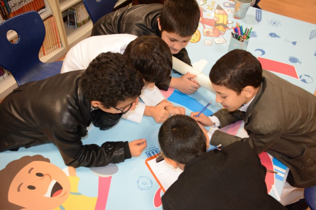 Maktaba visits school February 2019