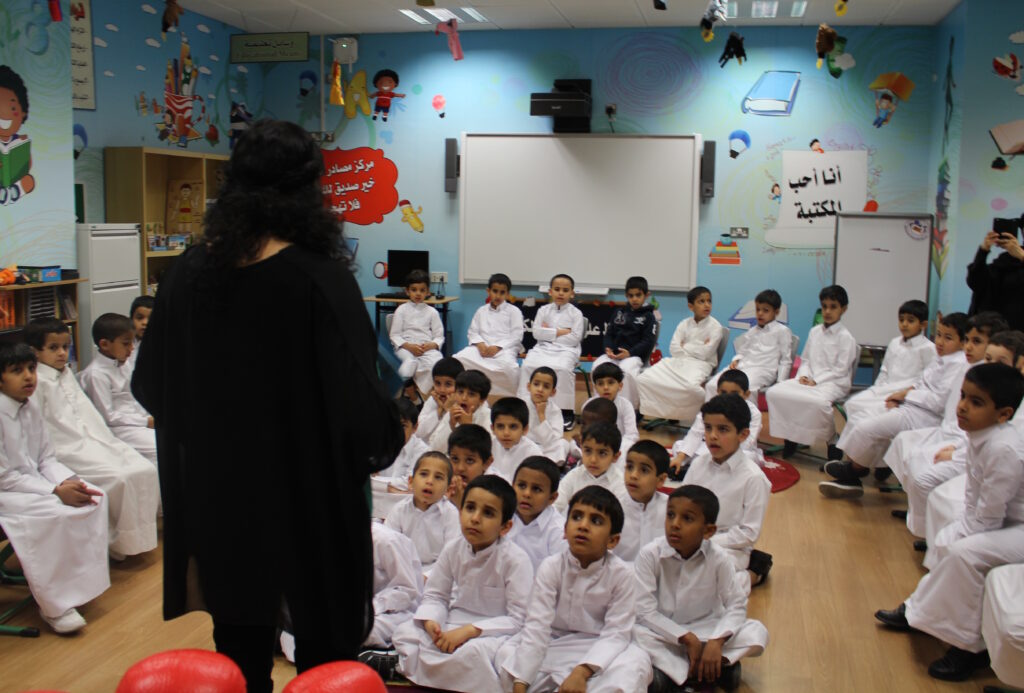 Maktaba visits an Independent Boys school.