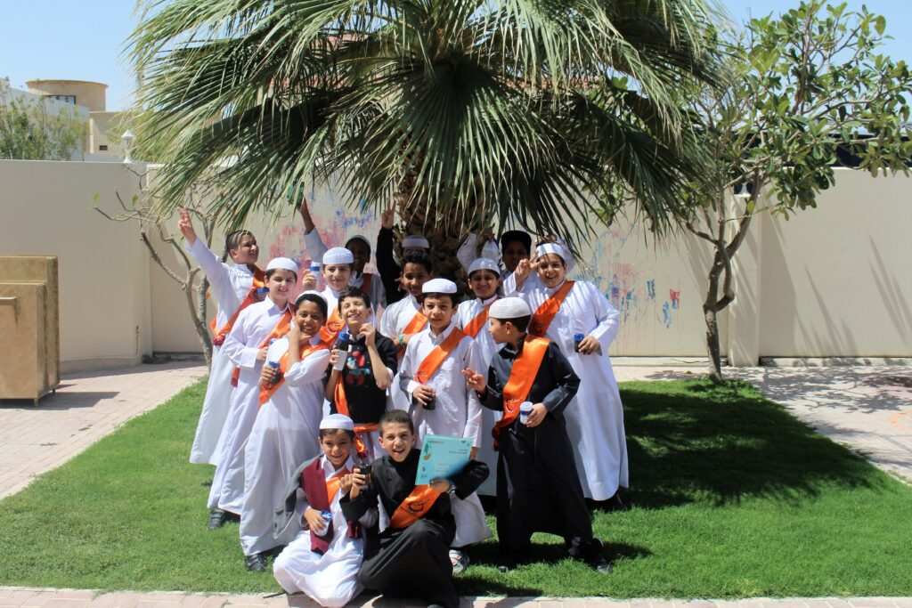 Independent Boys school visits Maktaba