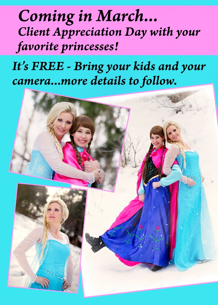 princess photo event