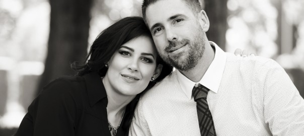 black and white engagements