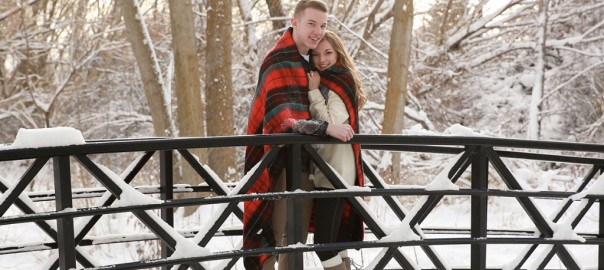 Engagement pictures in the snow, photography layton utah, park city photographer