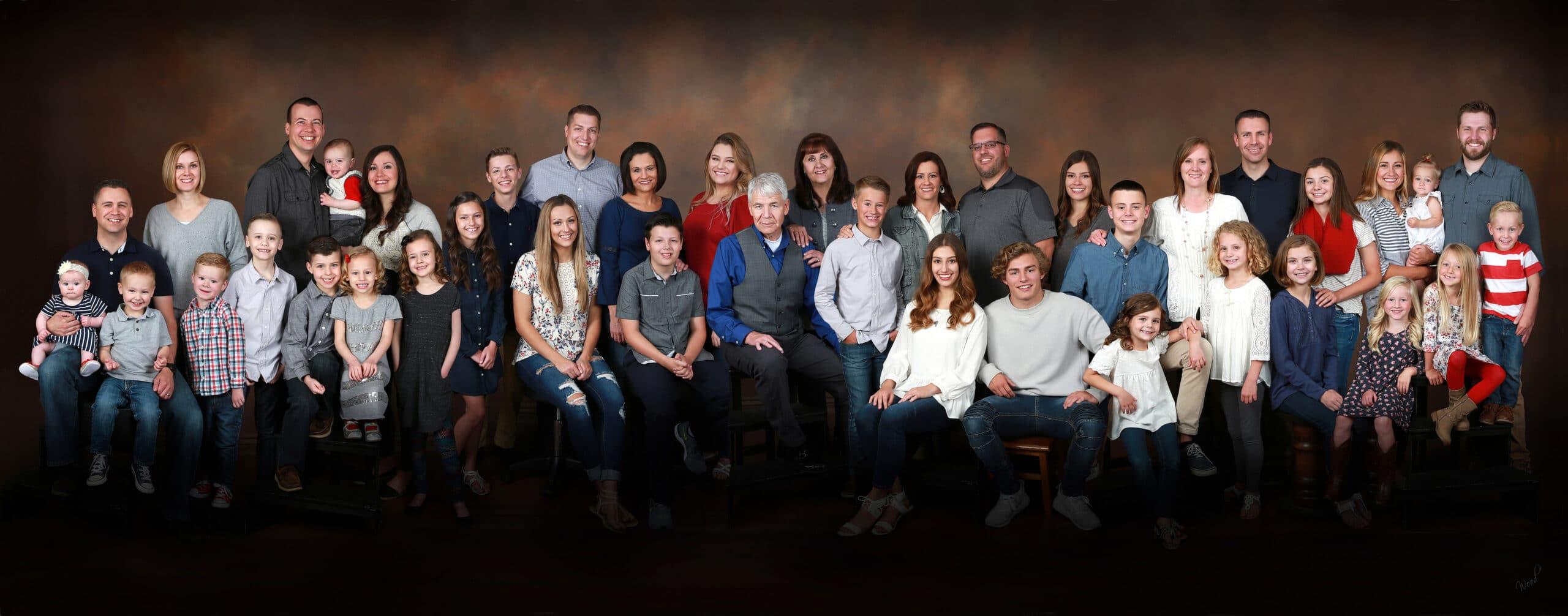 utah family photographer, large group photography