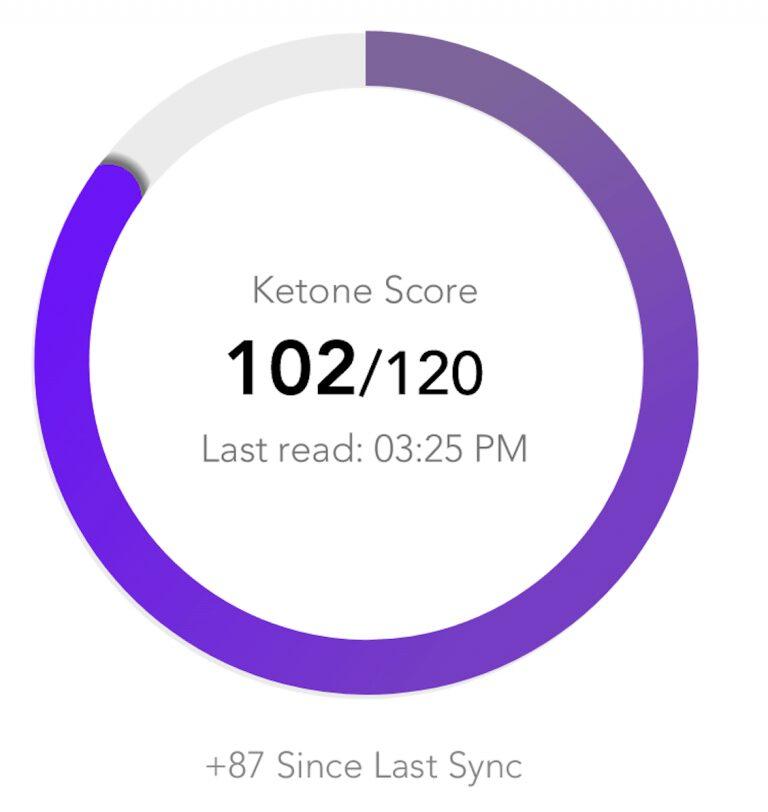 ketone score