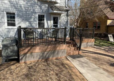 composite deck in robbinsdale