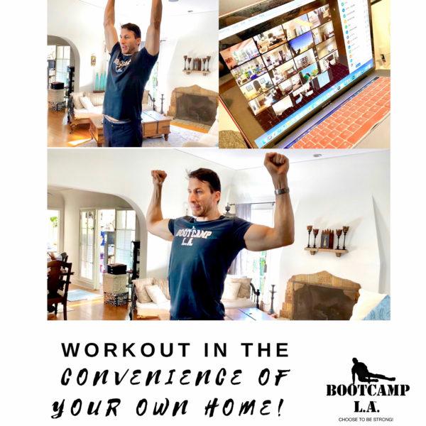 BOOTCAMP LA Home Workouts