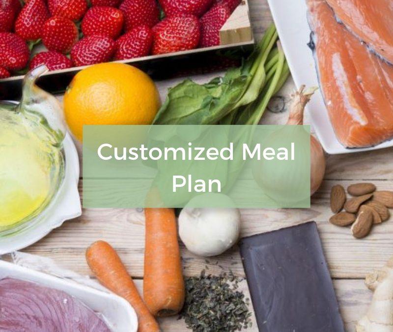 Customized Meal Plan