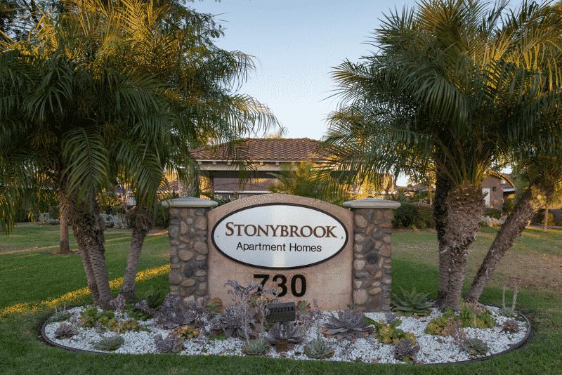 Stonybrook Apartment Homes Sign