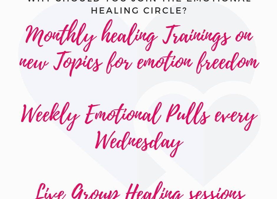 What is the Emotional Healing Circle, Focus Sessions and Monthly Packages?