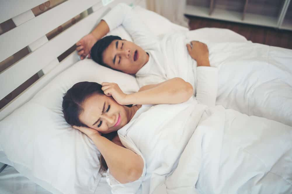acupuncture helps with snoring problems