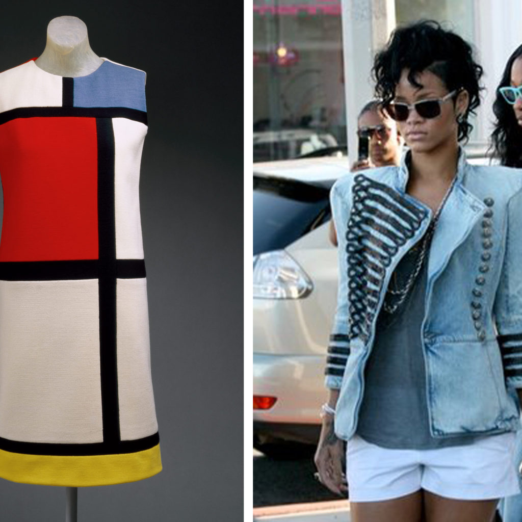 From Mondrian to Michael Jackson, designers take inspiration from art, pop culture changes the meaning of military wear