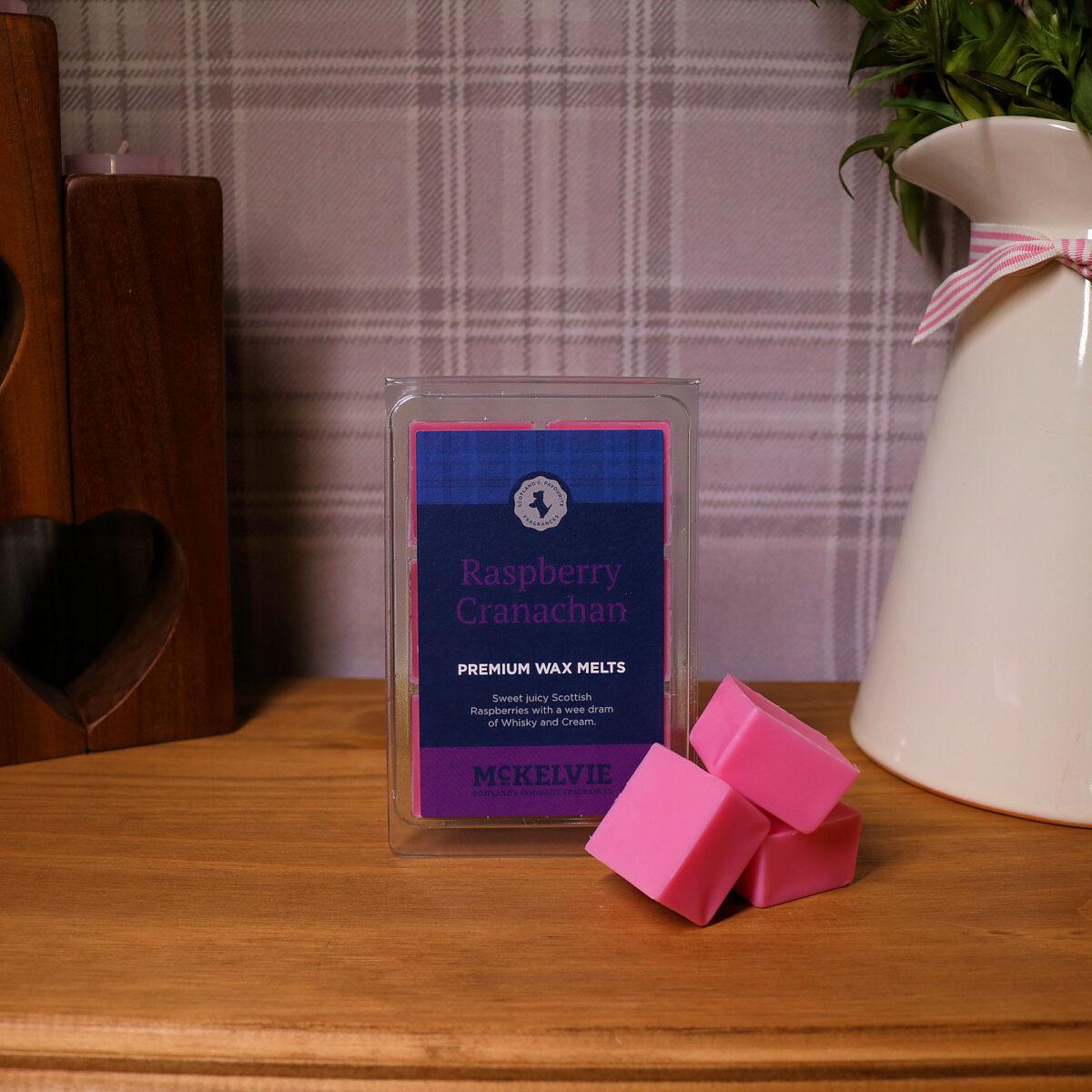 Raspberry Cranachan Wax Melts