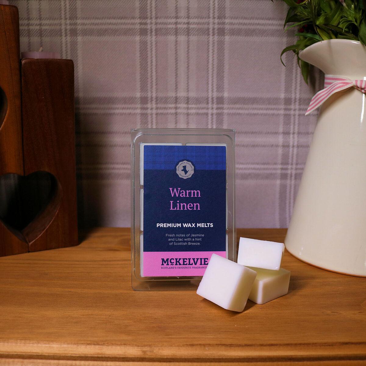 Warm Linen Wax Melts