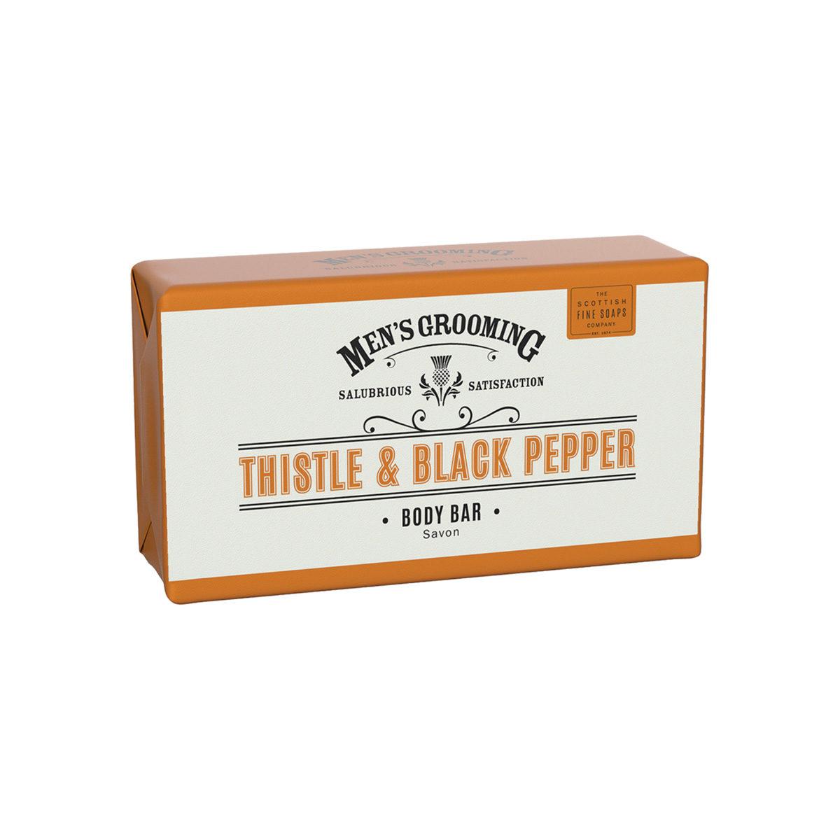 Thistle & Black Pepper Body Bar