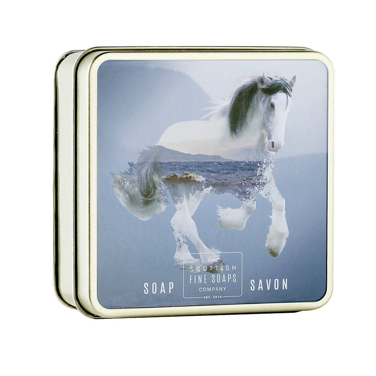 Clydesdale Horse Soap In A Tin – Wildlife Collection