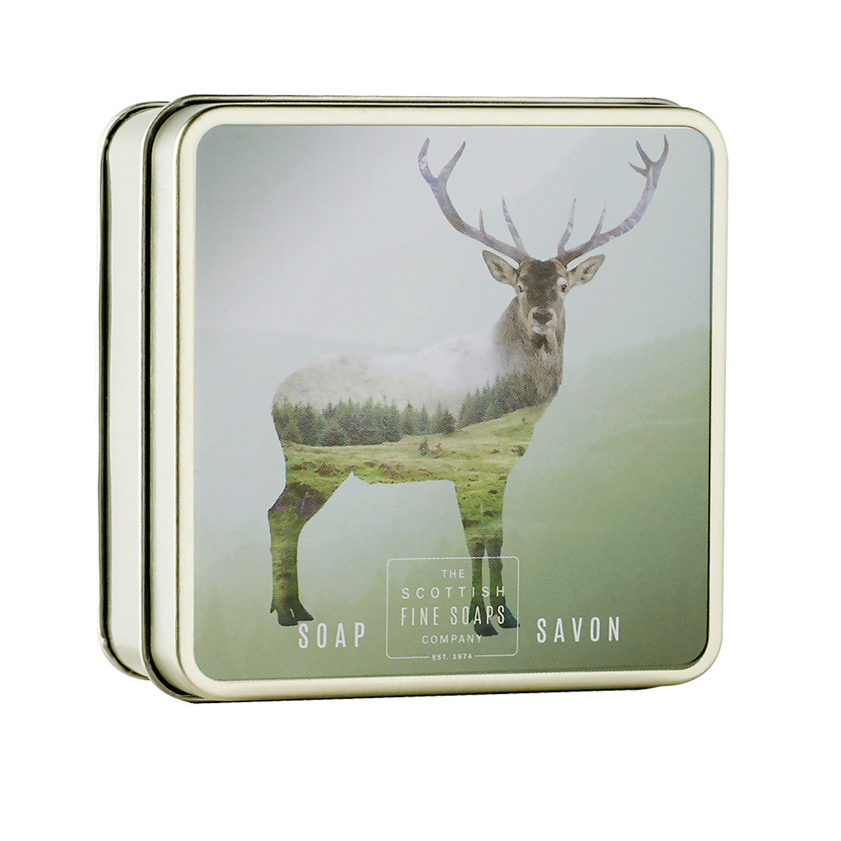 Red Stag Soap In A Tin – Wildlife Collection