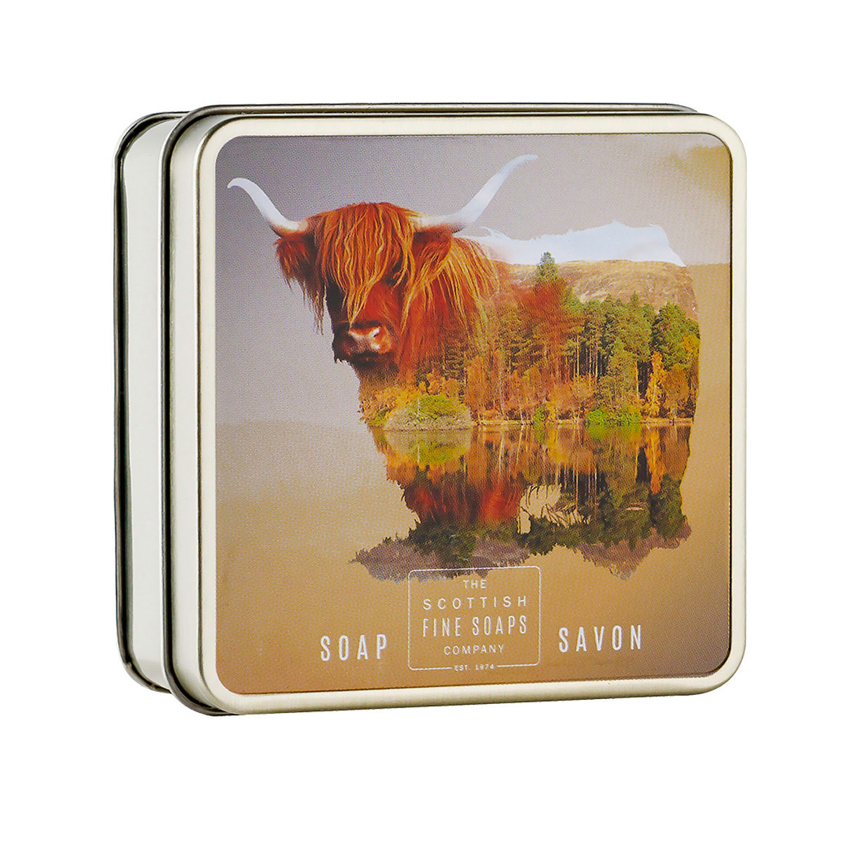 Highland Cow Soap In A Tin – Wildlife Collection