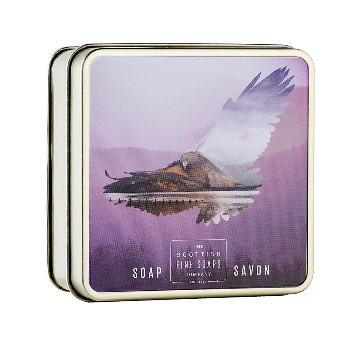 Golden Eagle Soap In A Tin – Wildlife Collection