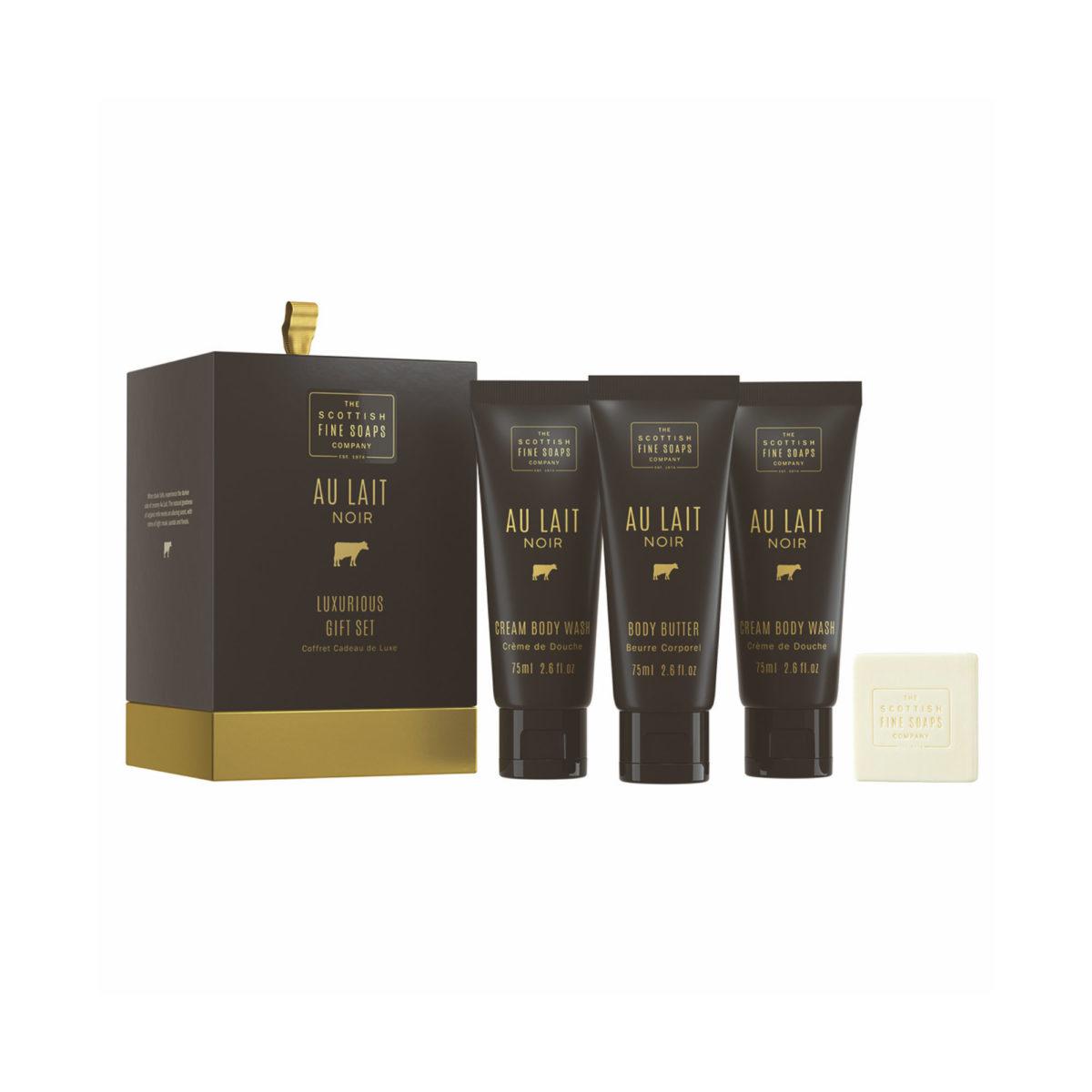 Au Lait Noir Luxurious Body Care Gift Set