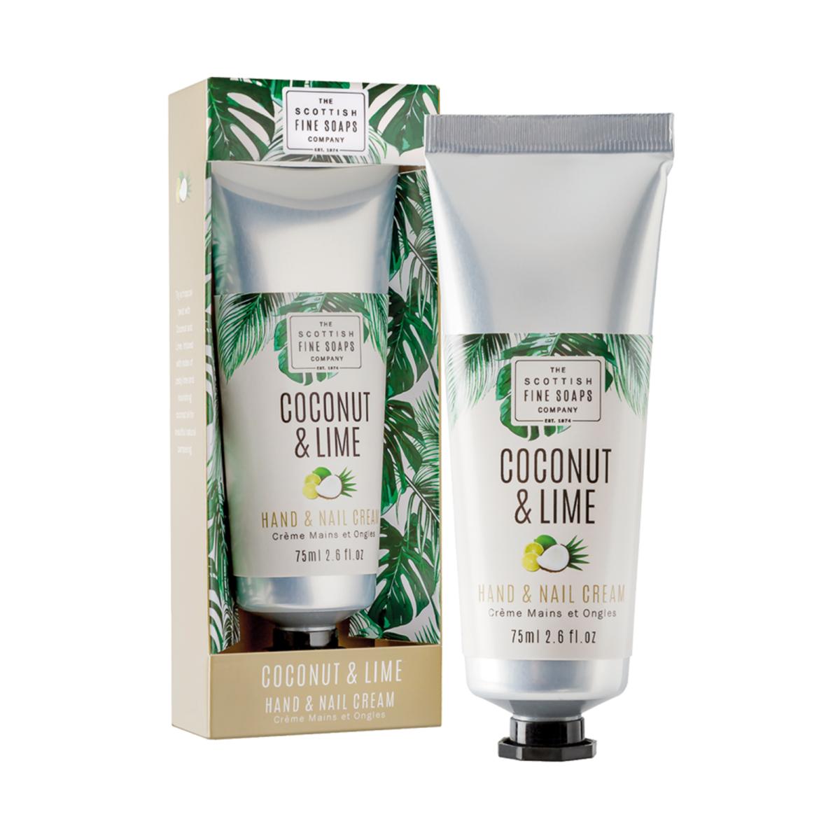 Coconut & Lime Hand & Nail Cream