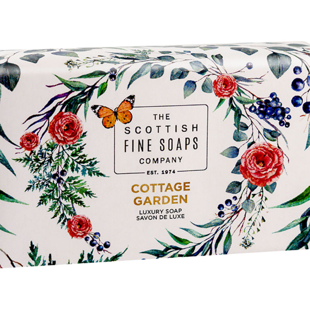 Cottage Garden Luxury Wrapped Soap – Nature Collection