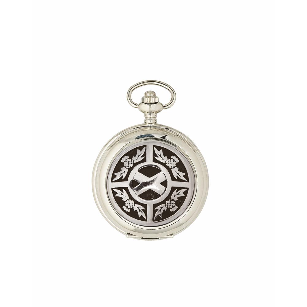 Thistle & Saltire Mechanical Pocket Watch