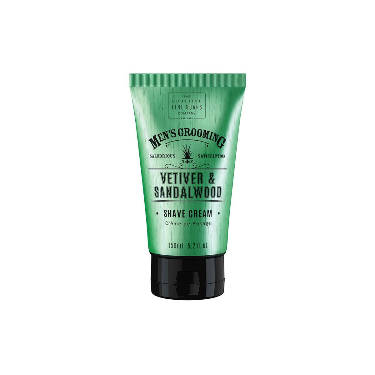Vetiver & Sandalwood Shave Cream