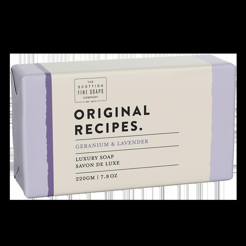 Geranium & Lavender Luxury Soap