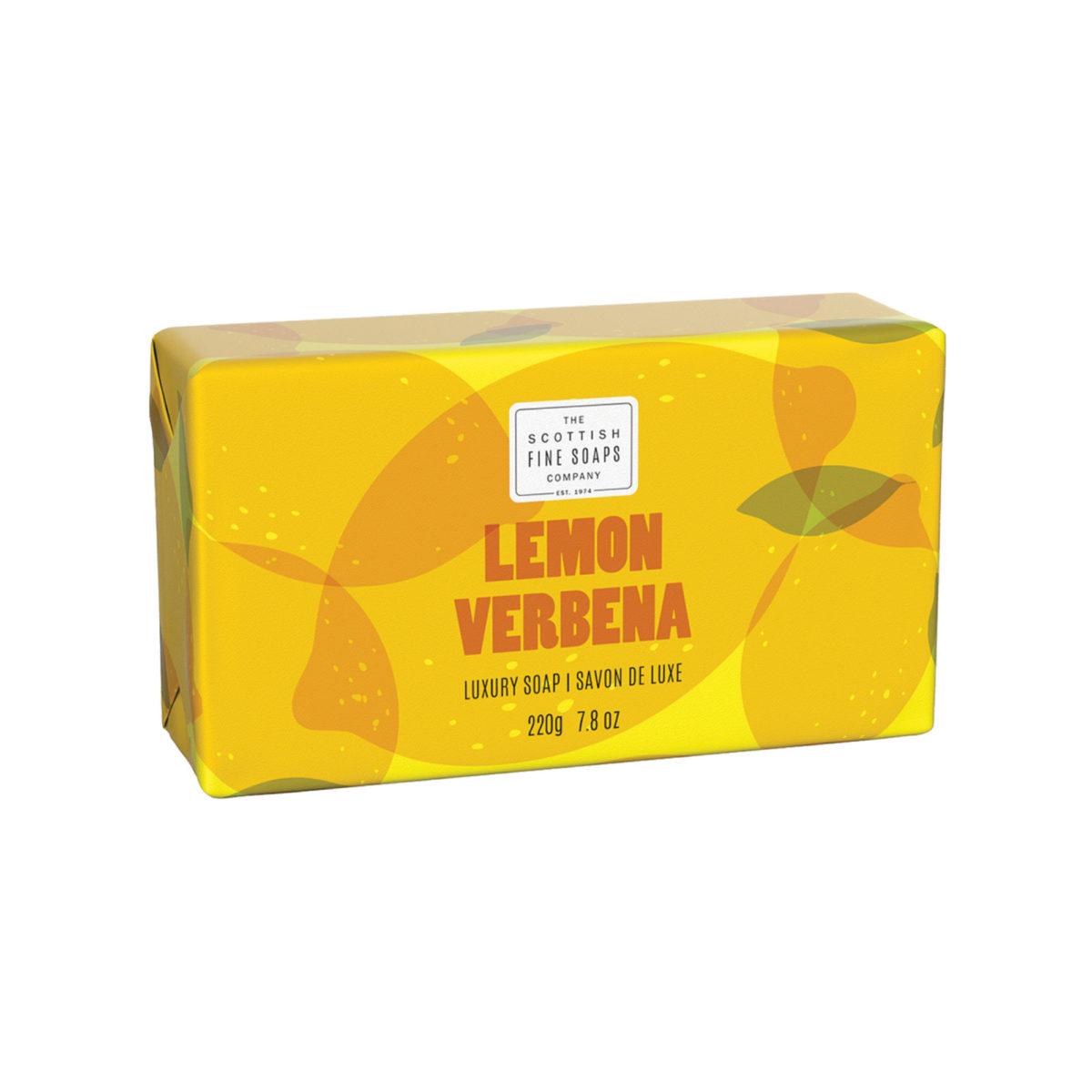 Lemon & Verbena Luxury Wrapped Soap – Citrus Collection