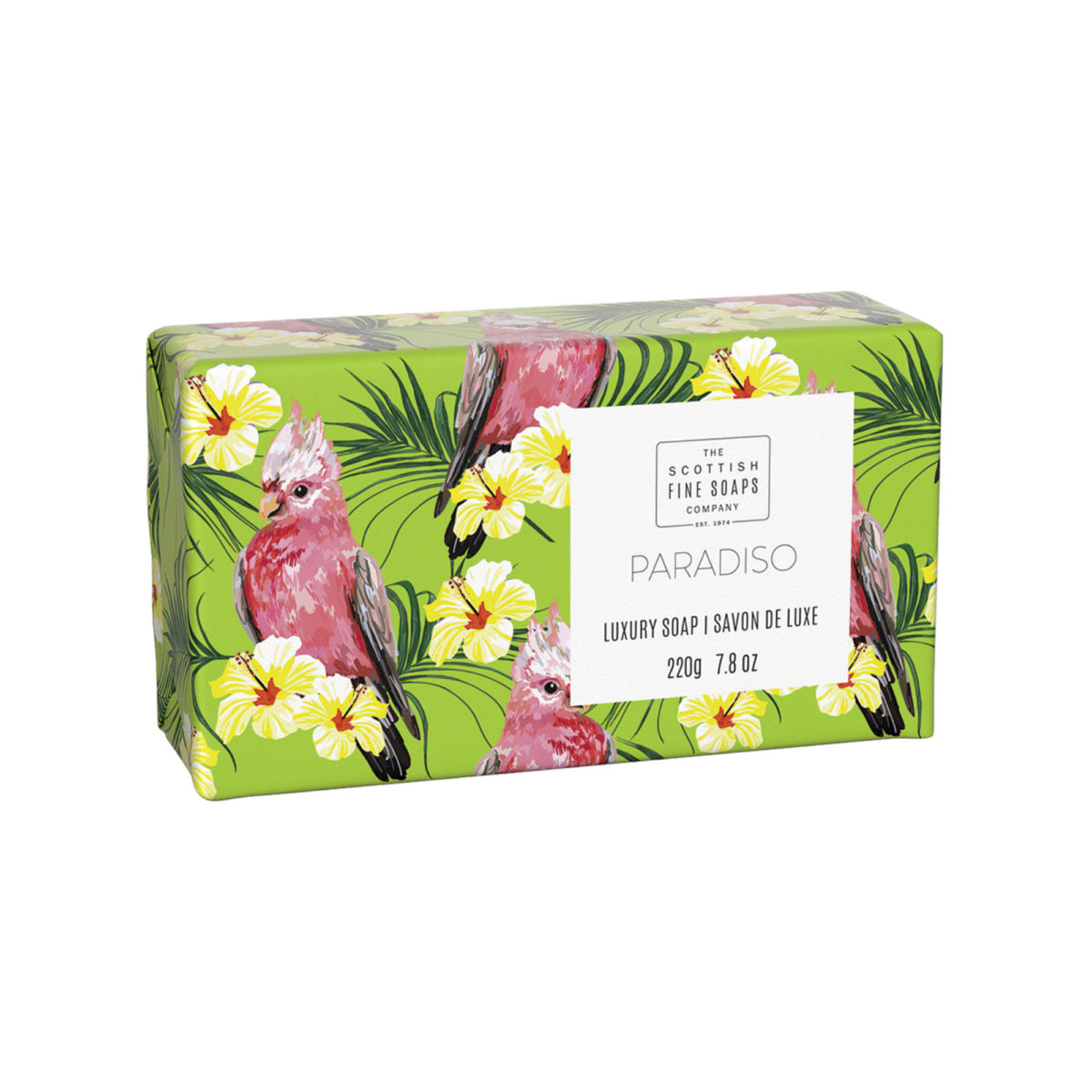 Paradiso Luxury Wrapped Soap – Tropical Collection