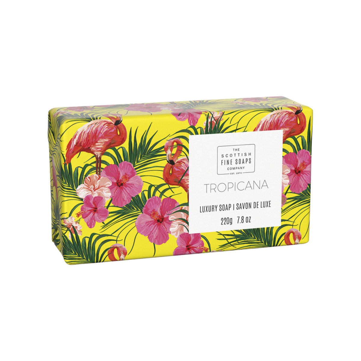 Tropicana Luxury Wrapped Soap – Tropical Collection