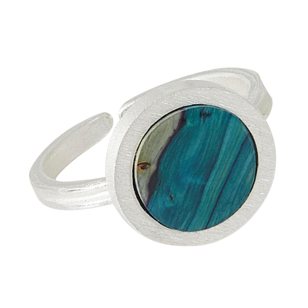 Ness Circle Satin Ring