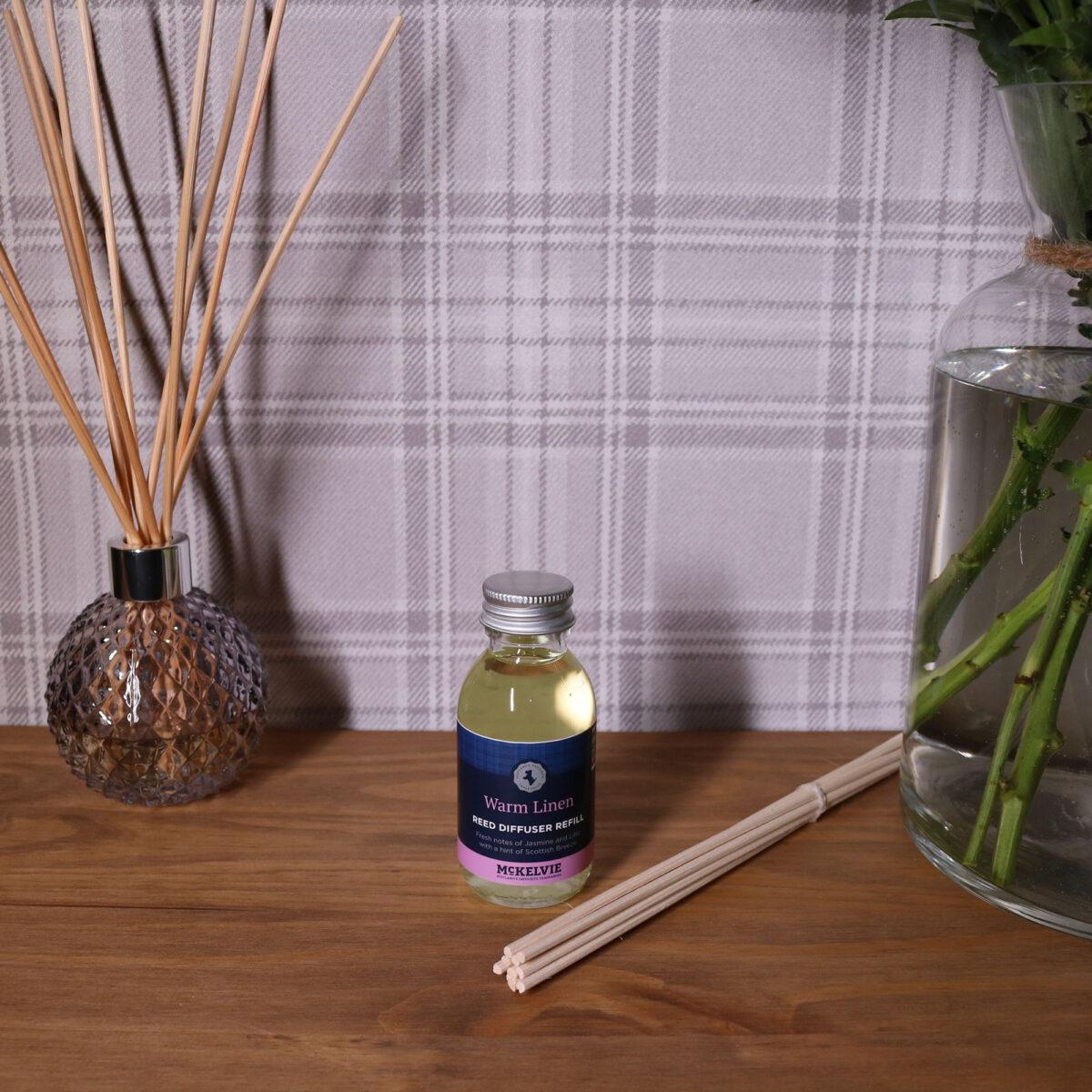 Warm Linen Reed Diffuser Refill
