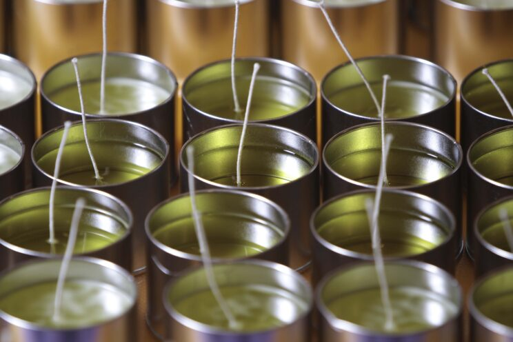 McKelvie Candle Production