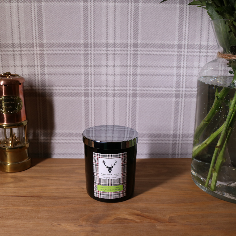 Lime, Basil & Mandarin Premium Handmade Luxury Candle