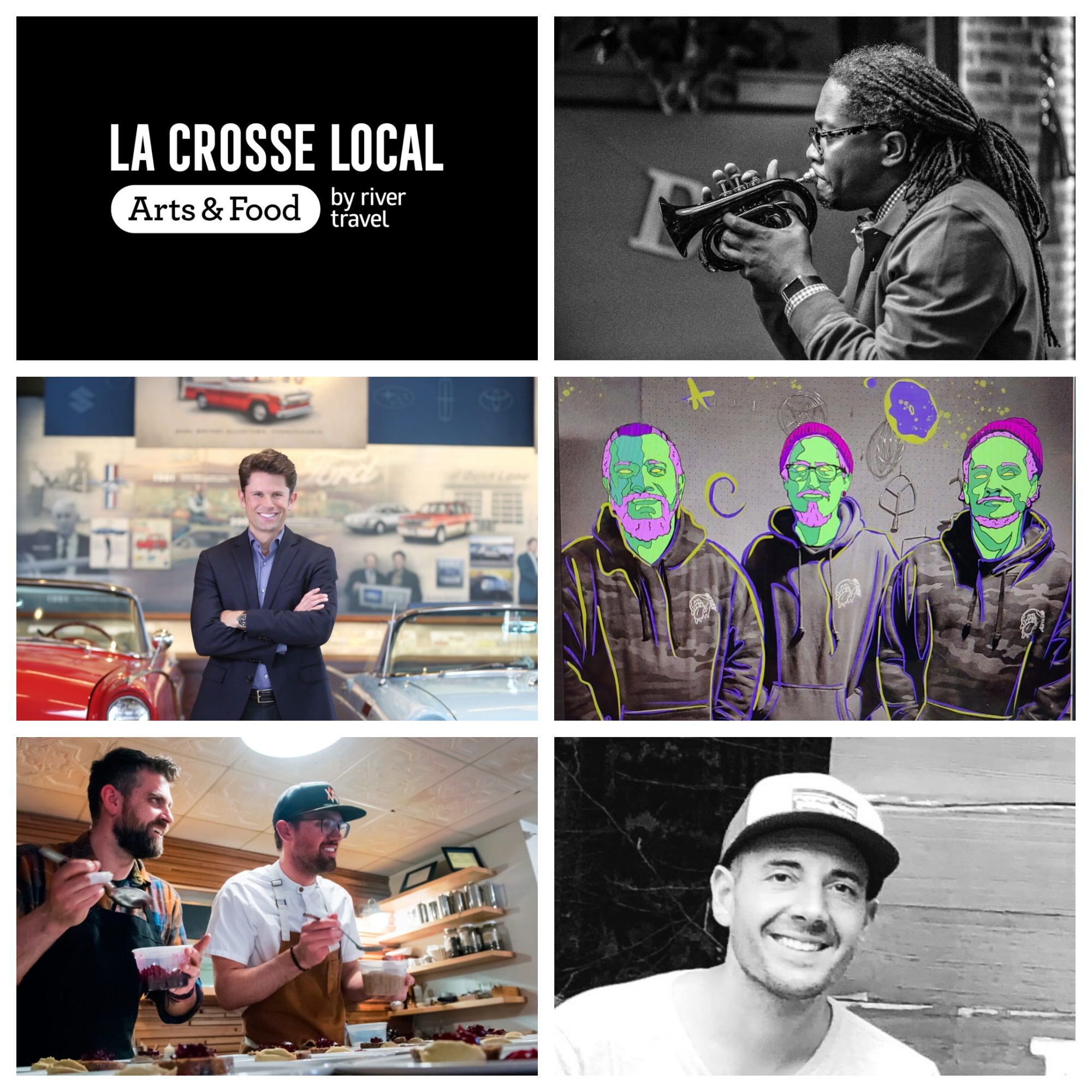 Top 5 most downloaded La Crosse Local Podcast (in no particular order)!