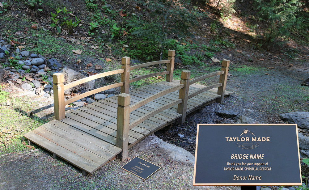 Taylor Made Addiction recovery grounds bridge for sponsorship
