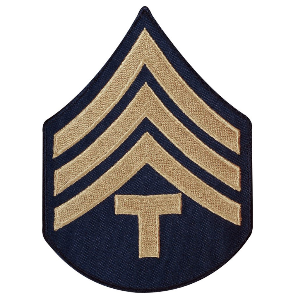 Ernest is Promoted to Sergeant as a Technician Fourth Grade