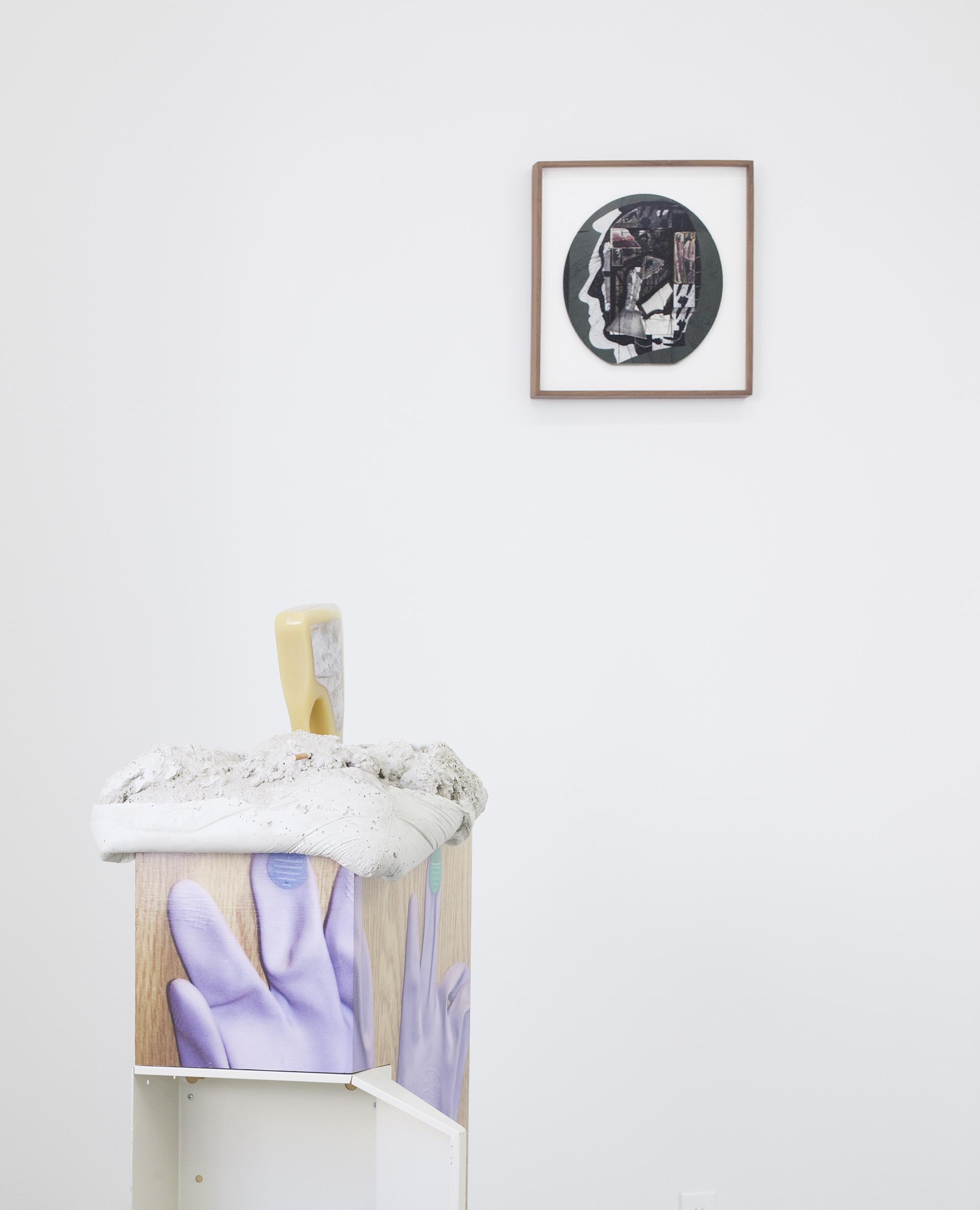 Ray Johnson Untitled (Tab Hunter William Burroughs), 1976-1981 Collage on cardboard panel © Ray Johnson Estate, Courtesy Richard L. Feigen & Co.