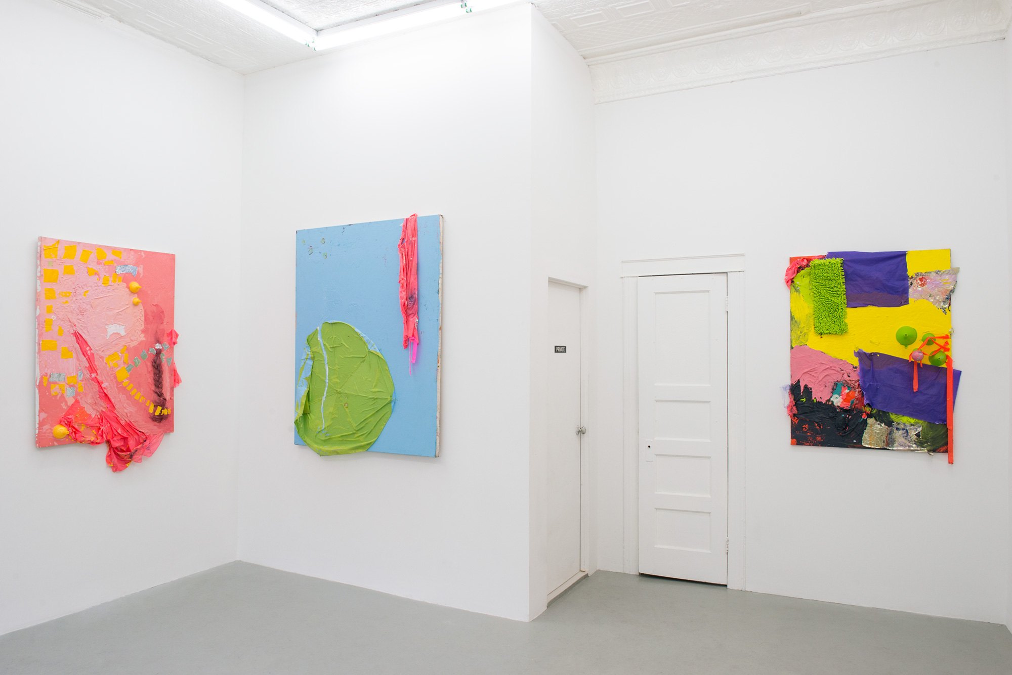 Be There Soon Installation view, 2015