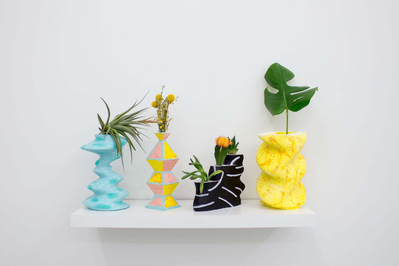 Eyebodega (Rob Chabebe & Joe Perez) Vase Is The Place, 2014 3D printed PLA and acrylic