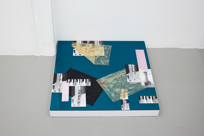 Grace Choi Laura II, 2014 Mixed media on plexiglass and wood