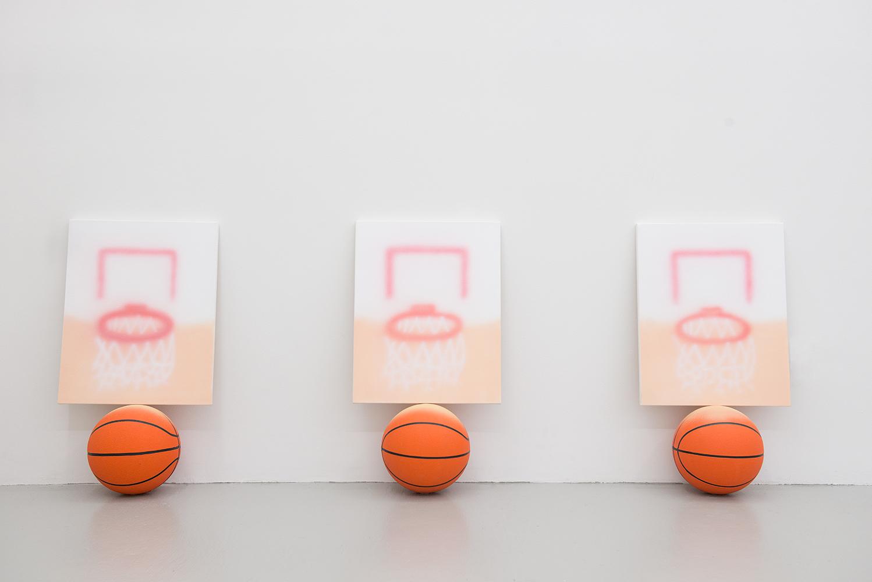 Goals On Balls, Installation view, 2015