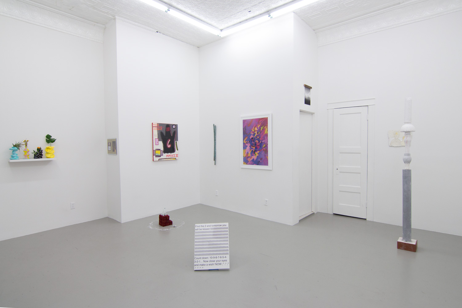 Winter Collection Installation view, 2014
