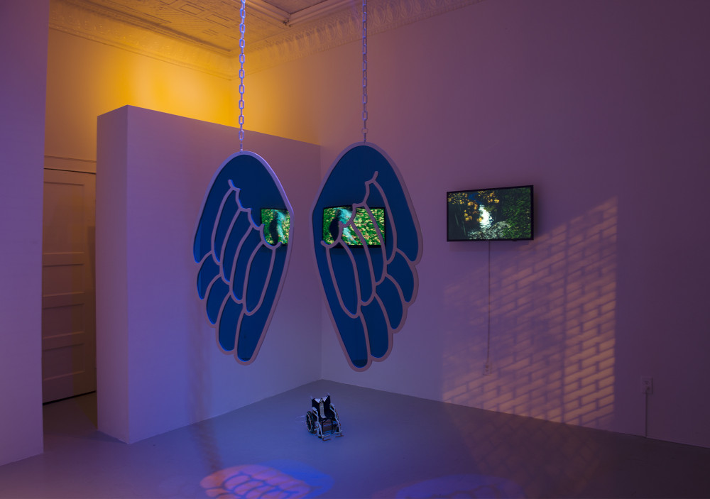 Fawn's Leap, NY, 2015 Installation View