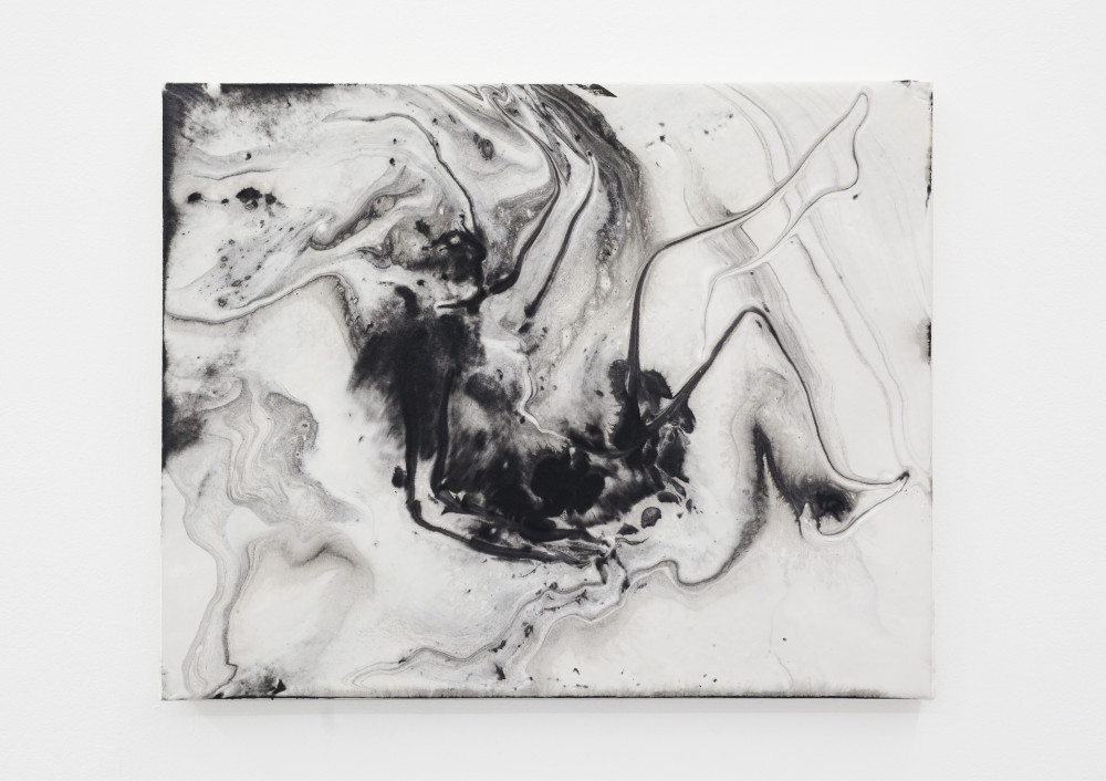 Alison Veit Adrienne, 2015 Ink and hydrocal on canvas