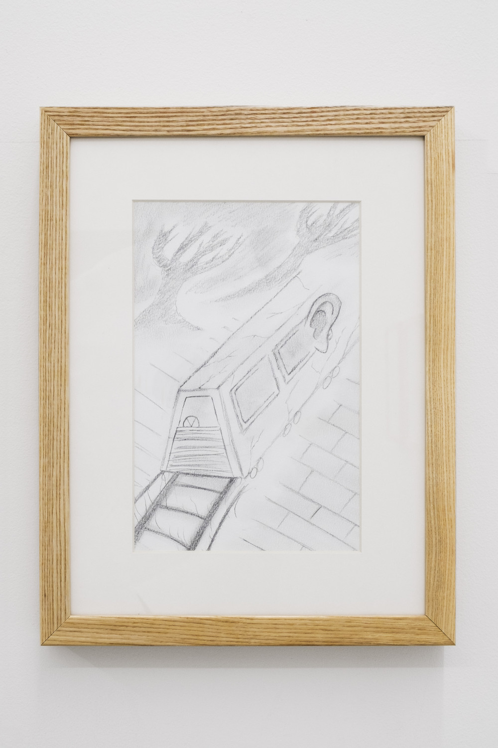 Quintessa Matranga The Grand Train, 2016 Graphite on paper