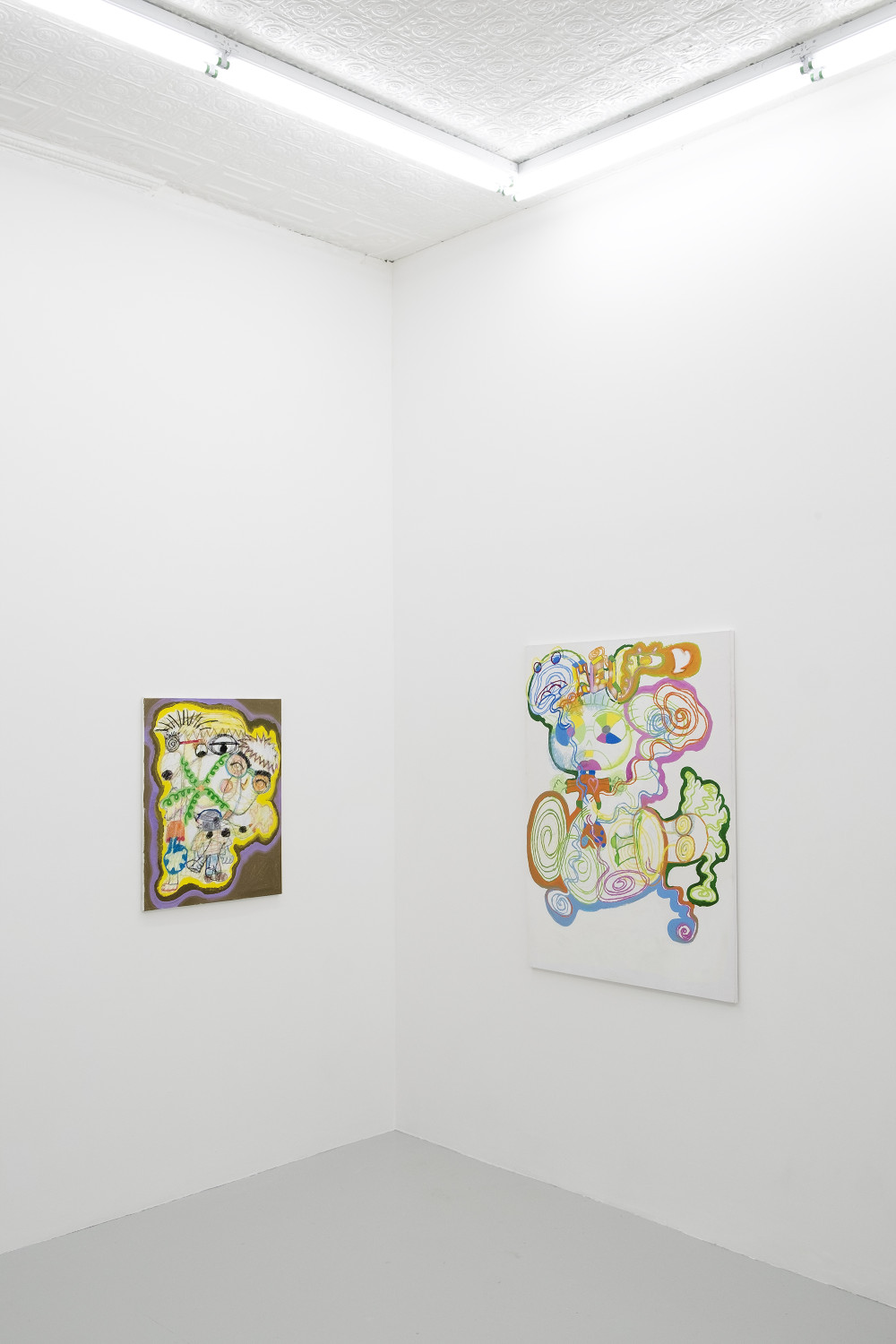 Dizzy World, 2016 Installation view