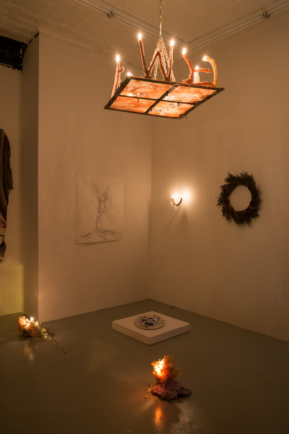 Gest's Candle, 2016 Installation view